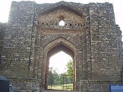 Rawat Fort Main gate.JPG