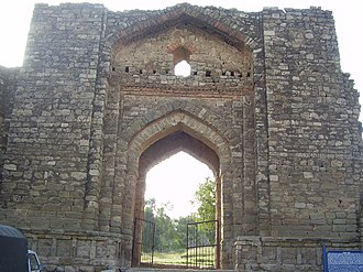 Rawat Fort - Image: Rawat Fort Main gate
