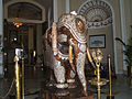 Reception of Lalitha Mahal Palace Hotel, Mysore.JPG