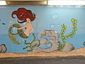Redhead, street art 2016 at Fonyód train station in Hungary.jpg
