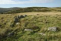 Remains of Cefn Caer Euni - geograph.org.uk - 339132.jpg