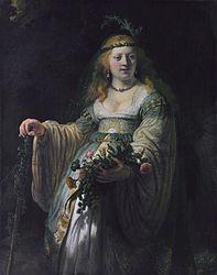 Rembrandt van Rijn: Saskia en Flore
