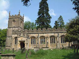 Rendcomb - Image: Rendcombe, St Peter