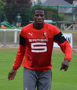 Rennes - Orléans 20140706 - Abdoulaye Doucouré bis.JPG