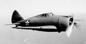 Pilot No. 5 - Republic P-43 Lancer fighter