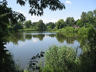 Barnim Plateau - A lake known as Retsee which is located on the plateau.