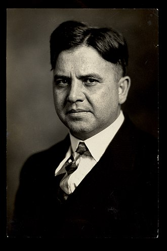 Reuben G. Soderstrom - Portrait of Reuben Soderstrom, circa 1930