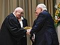 Reuven Rivlin swears judges and senior registrars at a ceremony held at Beit HaNassi, October 2017 (6732).jpg