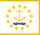 Eyalet Bayrağı Rhode Island