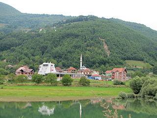 Ribariće Village in Raška District, Serbia