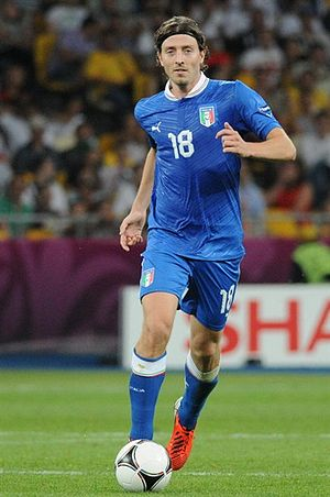 Riccardo Montolivo - Montolivo playing for Italy at the UEFA Euro 2012