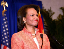 Rice, in a July, 2005 press conference, announces that North Korea has agreed to return to the Six Party Talks