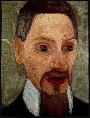 Rainer Maria Rilke porträtterad av Paula Modersohn-Becker