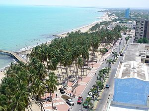 Riohacha - View of Riohacha beachfront