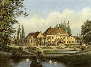 Warcino - Varzin estate, Alexander Duncker collection (late 19th century)