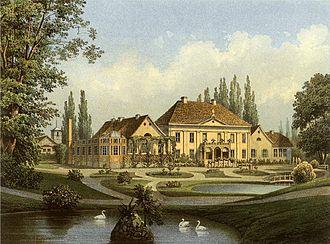 Warcino - Varzin estate, Alexander Duncker collection (late 19th century)