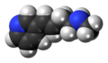 Rivanicline molecule spacefill.png