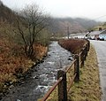 River flows past Gelli Houses, Cymmer - geograph.org.uk - 4604789.jpg
