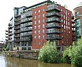 Riverside development on the Aire near Leeds Bridge - geograph.org.uk - 483492.jpg