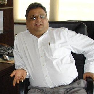 Rakesh Jhunjhunwala - Image: Rj in office