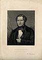 Robert Wilhelm Eberhard Bunsen. Line engraving by C. Cook. Wellcome V0000904.jpg