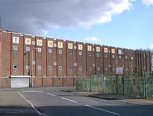 Robertson's - Robertson's Jam Factory in Droylsden