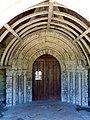 Roberval (60), église Saint-Remy, portail occidental 1.JPG