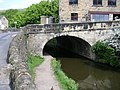 Rochdale Canal Bridge and Towpath - Burnley Road - geograph.org.uk - 810154.jpg
