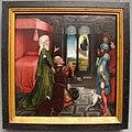 Rogier van der weyden (bottega), augusto e la sibilla tiburtina, 1460 ca. 01.JPG