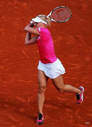 Kaia Kanepi -  Kanepi reach the quarterfinals at the French Open.