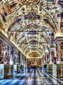 Rom - Vatikanische Museen, Großer Saal der Bibliothek, Salone Sistino (8261344138).jpg