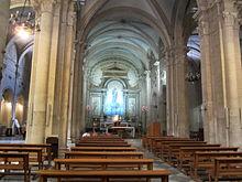 Navata centrale della Chiesa