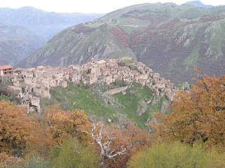 Romagnano al Monte Comune in Campania, Italy