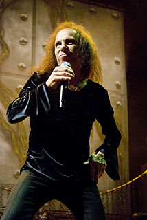 Ronnie James Dio American singer-songwriter and composer