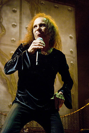 Ronnie James Dio - Image: Ronnie James Dio Heaven N Hell 2009 06 11 Chicago Photoby Adam Bielawski
