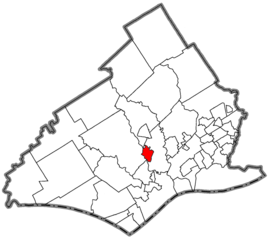 Rose valley, Delaware County, Pennsylvania.png