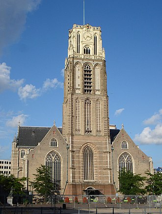 Grote of Sint-Laurenskerk (Rotterdam) - Grote of Sint-Laurenskerk in 2007