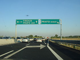 Image illustrative de l'article Autoroute A11 (Italie)