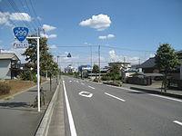 Route 299 Hanno Sayama bypass Hanno city 2.JPG