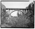 Route 87, Beaver Creek Bridge, elevation. View ESE. - Beaver Creek Bridge, Hot Springs, Fall River County, SD HAER SD-53-4.tif
