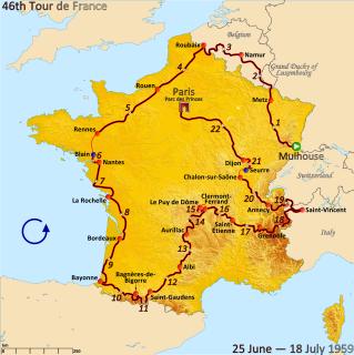 1959 Tour de France cycling race