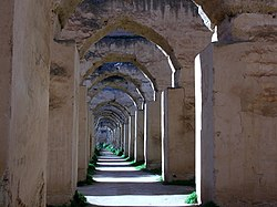 250px-Royal_stables,_Meknes