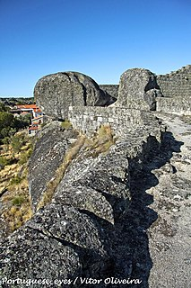 Castle of Moreira de Rei
