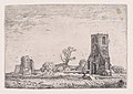 Ruins of the Chapel of Eykenduyen, near the Hague, from Verscheyden Landtschapjes (Various Landscapes), Plate 10 MET DP871793.jpg