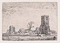 Ruins of the Chapel of Eykenduyen, near the Hague, from Verscheyden Landtschapjes (Various Landscapes), Plate 10 MET DP871793.jpg