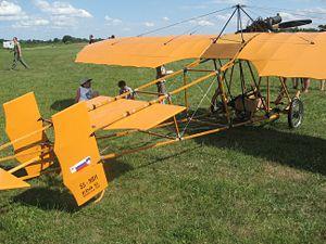 Edvard Rusjan - Replica of Rusjan airplane Eda V