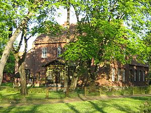 Rusnė - Image: Rusne old rectory