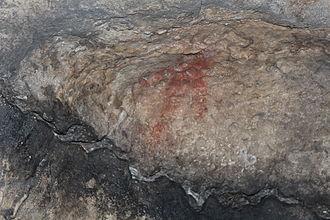 Ignatievka Cave - Image: Russia Ignateva Cave Figure