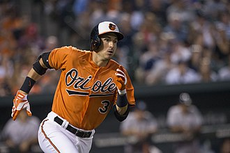 Ryan Flaherty - Flaherty playing with the Orioles in 2015