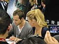 Ryan Reynolds and Blake Lively from the Green Lantern movie - WonderCon 2011.jpg